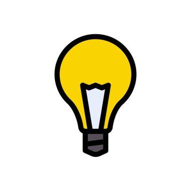 Light  Icon for website design and desktop envelopment, development. premium pack. icon