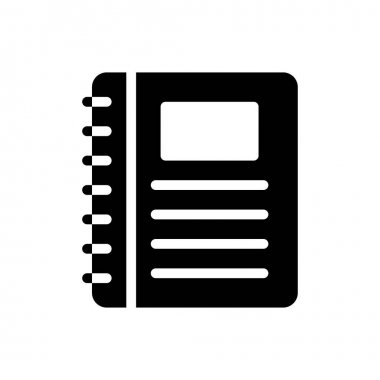 Binder  Icon for website design and desktop envelopment, development. premium pack. icon