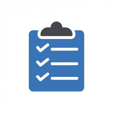 Task list Icon for website design and desktop envelopment, development. premium pack. icon