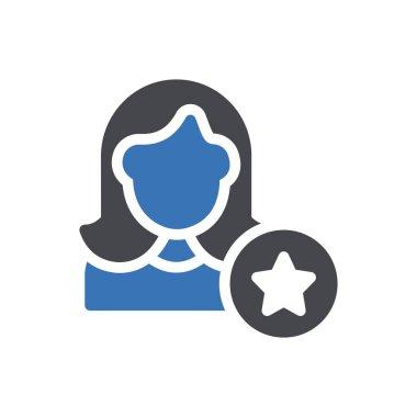 Employee  Icon for website design and desktop envelopment, development. premium pack. icon