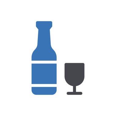 Wine Icon for website design and desktop envelopment, development. premium pack. icon