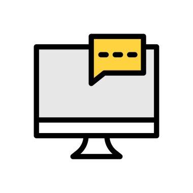 Bubble  Icon for website design and desktop envelopment, development. premium pack. icon