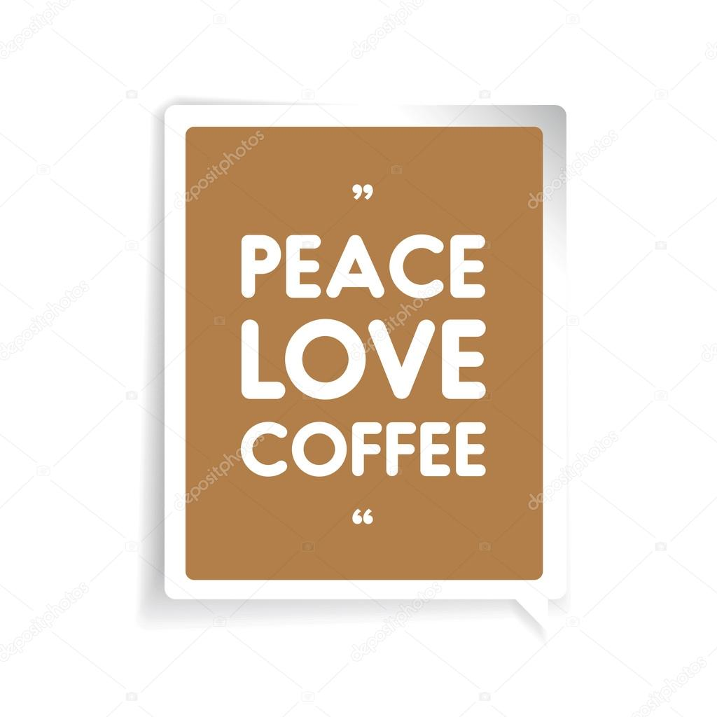 Peace Love Quotes Download: Stock Vector © Grounder #102323108