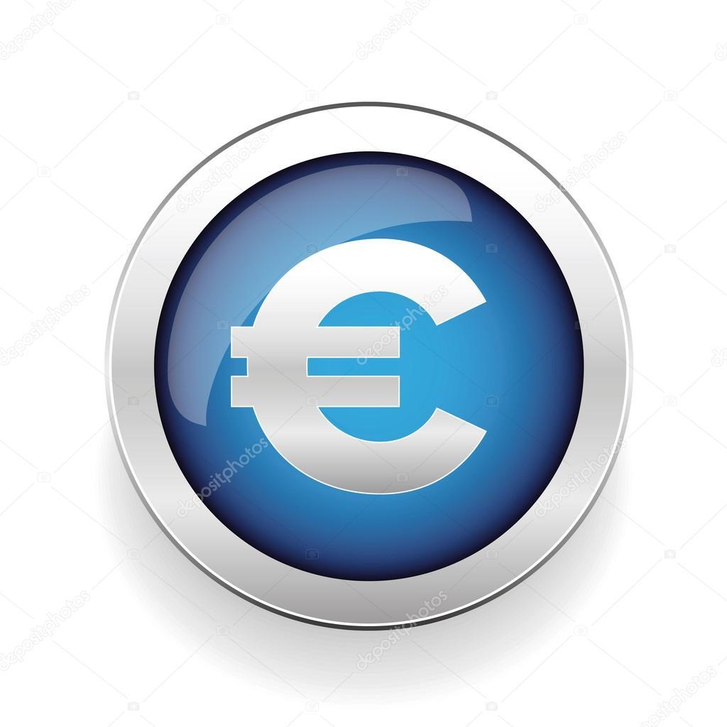 Money symbol euro sign button stock vector grounder 118096290 money symbol euro sign button stock vector buycottarizona Gallery