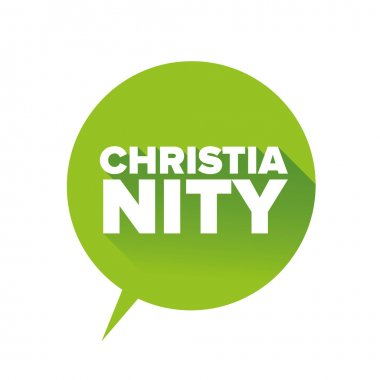 Christianity sign vector