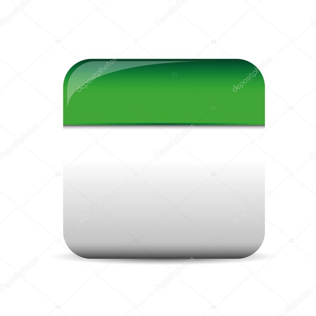 Empty square button vector stock vector grounder 92502798 empty square button vector stock vector buycottarizona Gallery
