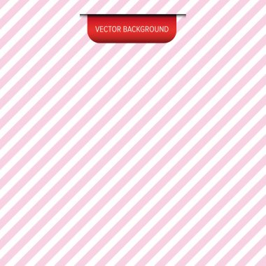 Pink diagonal stripes vector background