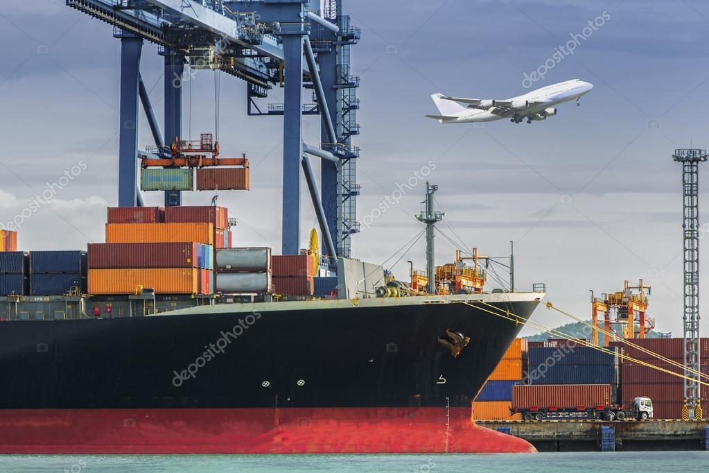 Container Cargo freight ship — Stock Photo © anekoho #53030067