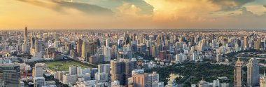 Bangkok panorama view