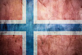 Výstřední vlajka Norska