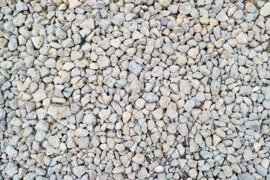 White gravel texture