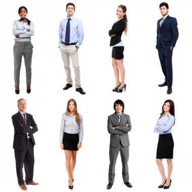 111111confident business people