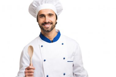 smiling confident chef