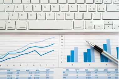 Kayboard on financial reports