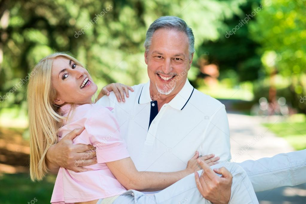 Couple Mature happy mature couple — stock photo © minervastock #82231450