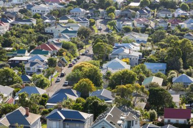 Section of a small town, Devonport
