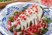 Chilit en nogada mexikói ételek
