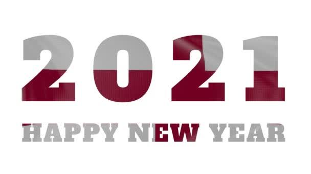 2021 Boldog új évet, Anglia Zászló animáció 2021