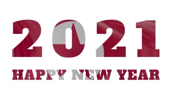 2021 Boldog új évet, Korea Észak-Korea zászló animáció 2021