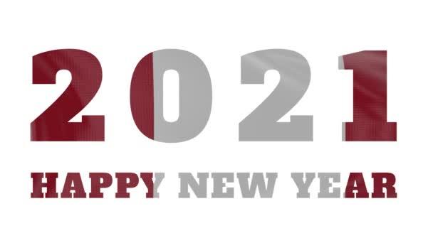 2021 Boldog új évet, Peru újév zászló animáció 2021