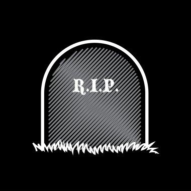 Gravestone, rest in peace