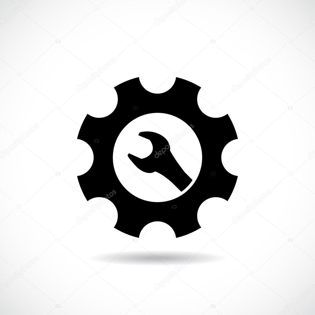 onderhoud symbool — Stockvector © i3alda #53686857