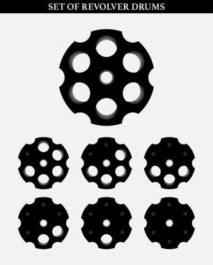 Set of Revolver drums