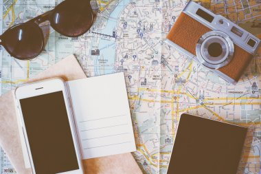 Travel planning items