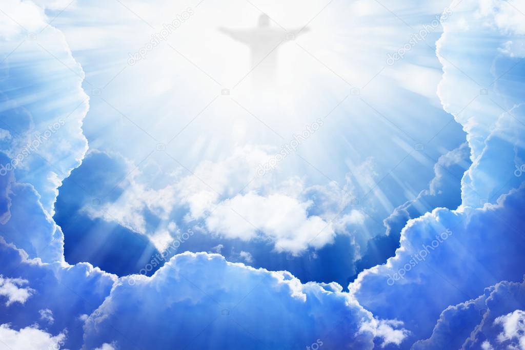 jesus christ in heaven — stock photo © i_g0rzh #52378729