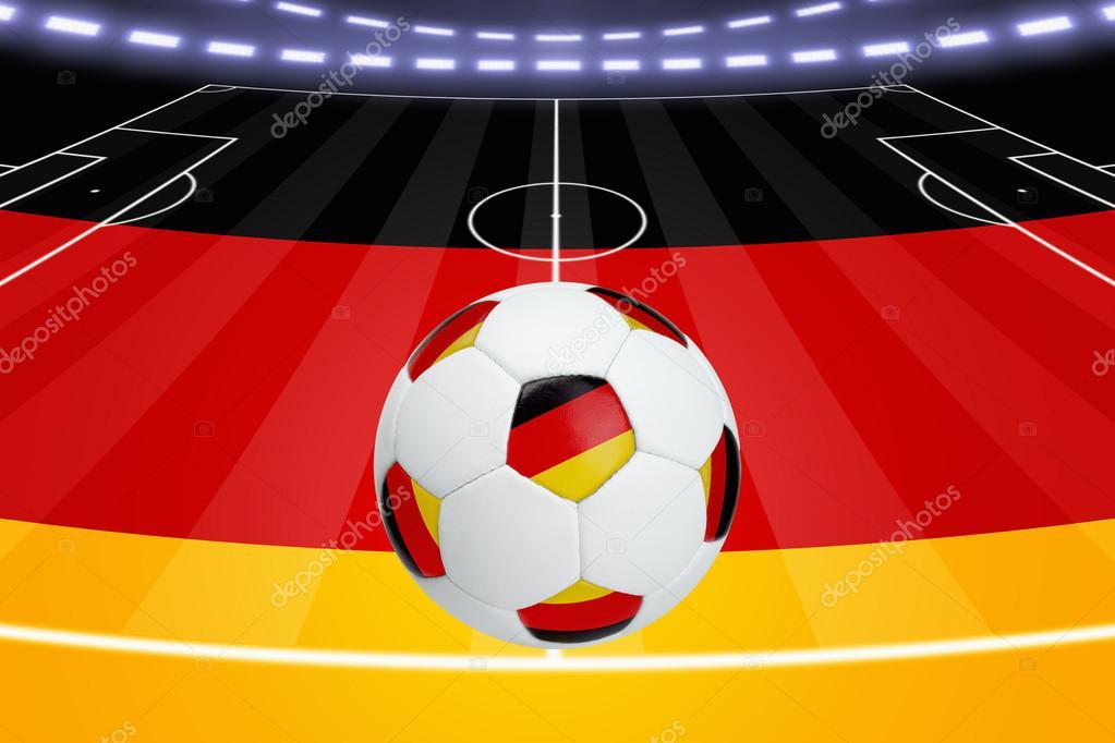 Футбольное поле по немецки