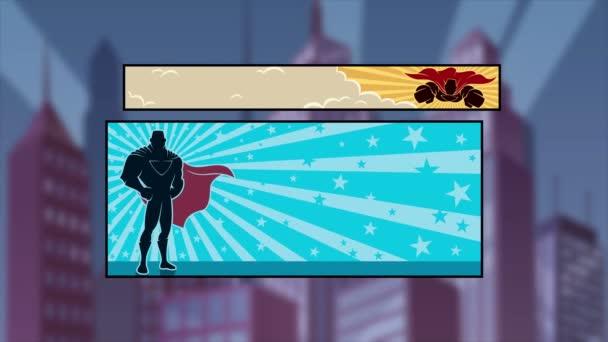 Supereroe Comicbook Intro