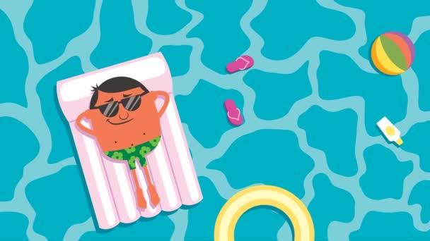 Letní prázdniny animace