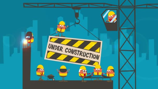 Under Construction Cartoon