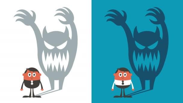 Animation zum Angstschleifen