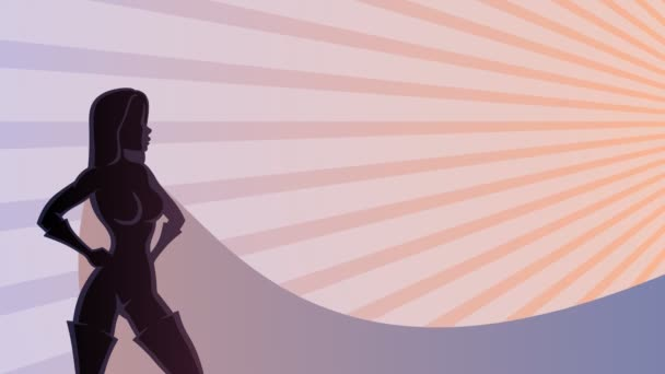 Superheroine Background 2