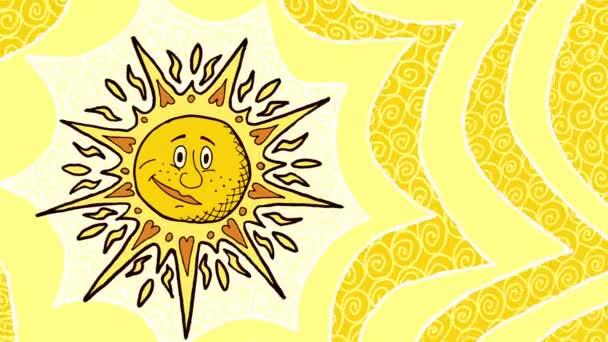 slunce pozadí