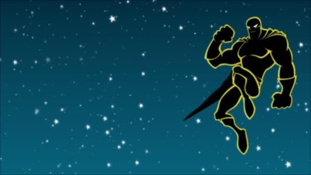 Superhero In The Sky