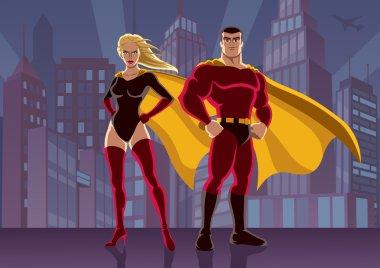 Superhero Couple 2