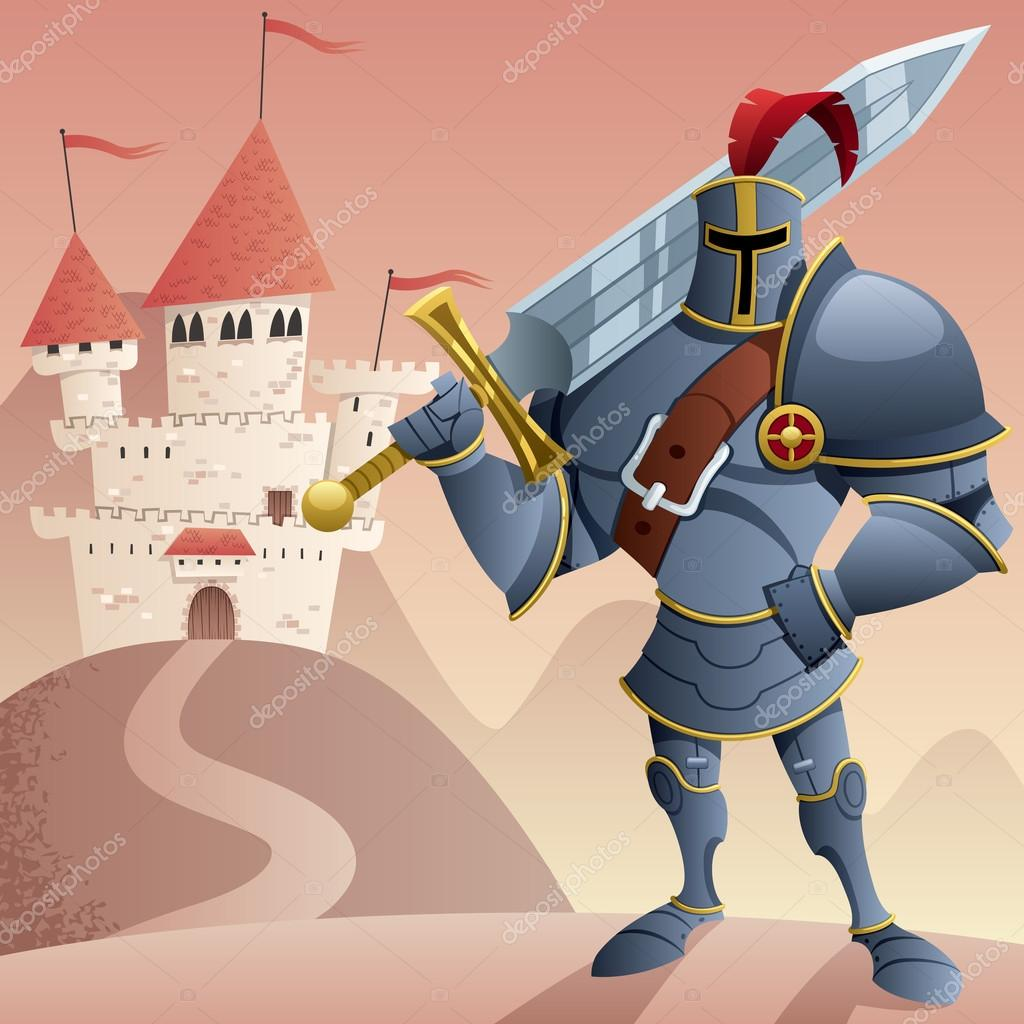 Caballero 2 — Vector de stock © Malchev #82331820