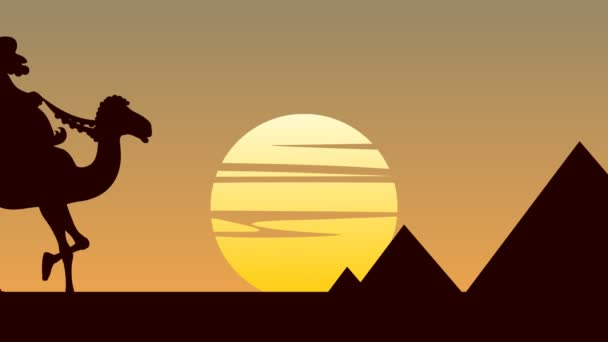 Egyptian Pyramids Animation