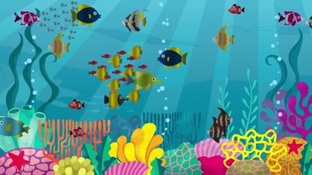 Undersea Looping Animation