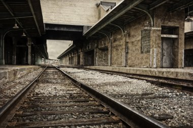 Decaying Train Station