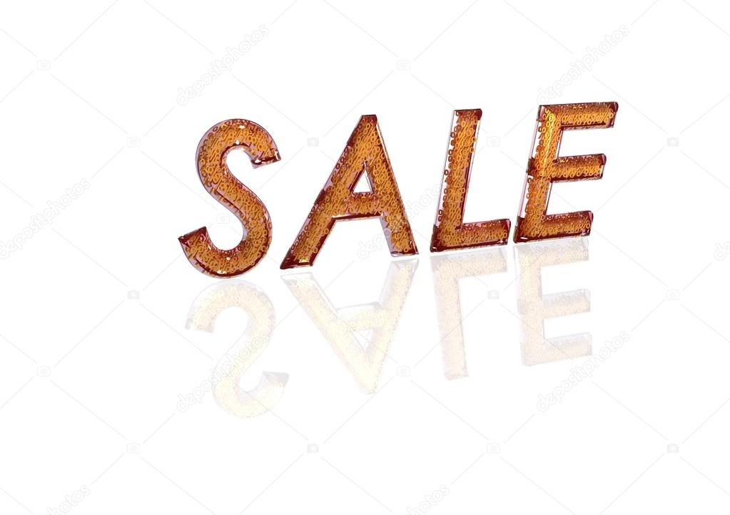 Word Sale Made From Percentage Symbols Stock Photo Richter1910