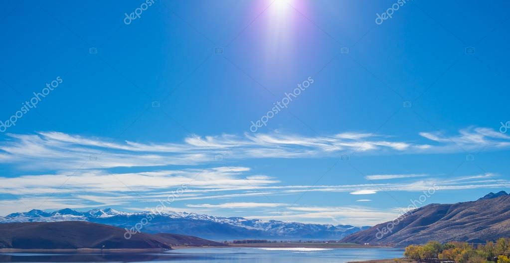 Beautiful Topaz Lake , Nevada .