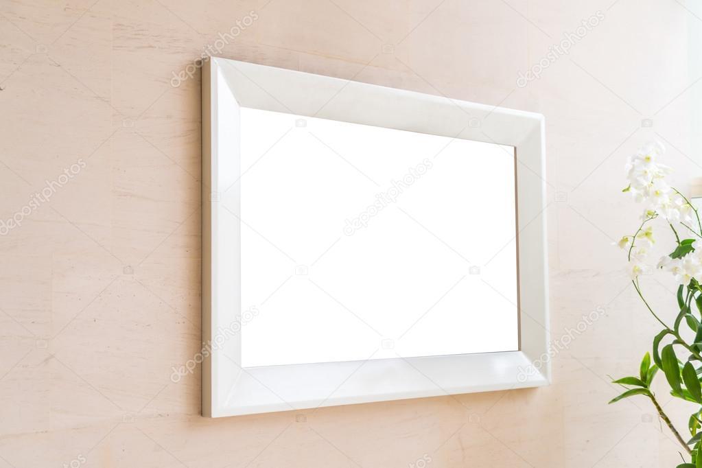 moderner Rahmen an der Wand — Stockfoto © jannystockphoto #122587830