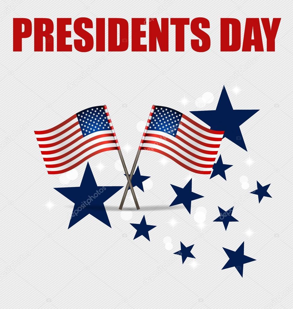 happy presidents day presidents day banner illustration