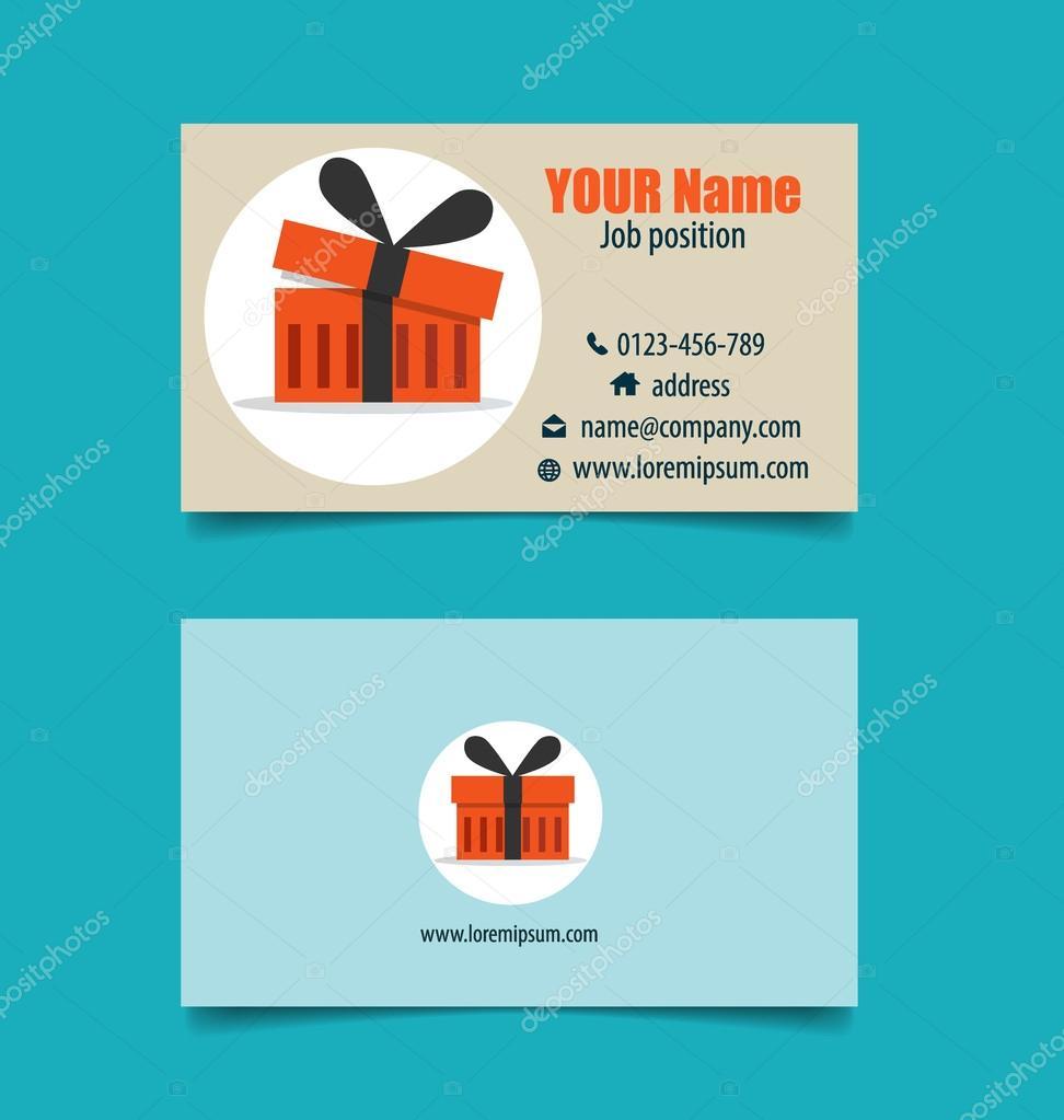 Modle De Carte Visite Moderne Avec Business Concept Infographie Fond Illustration Vectorielle Vecteur Par Jannystockphoto