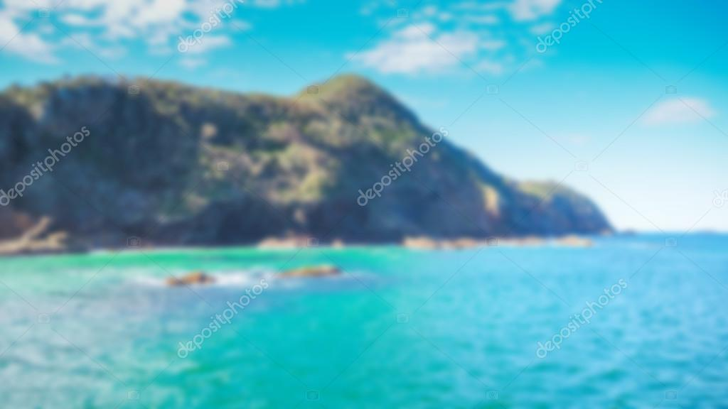 blur sea background