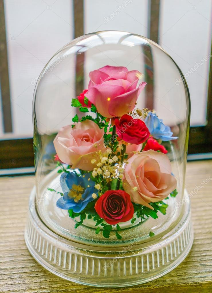 künstliche blumen in glas — stockfoto © jannystockphoto #96789088, Best garten ideen