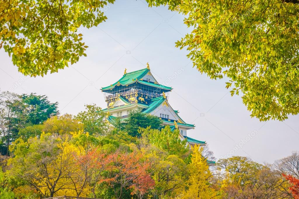 Beautiful Osaka castle